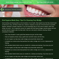 Aberdeen Dental Centre  - January Newsletter - 2017